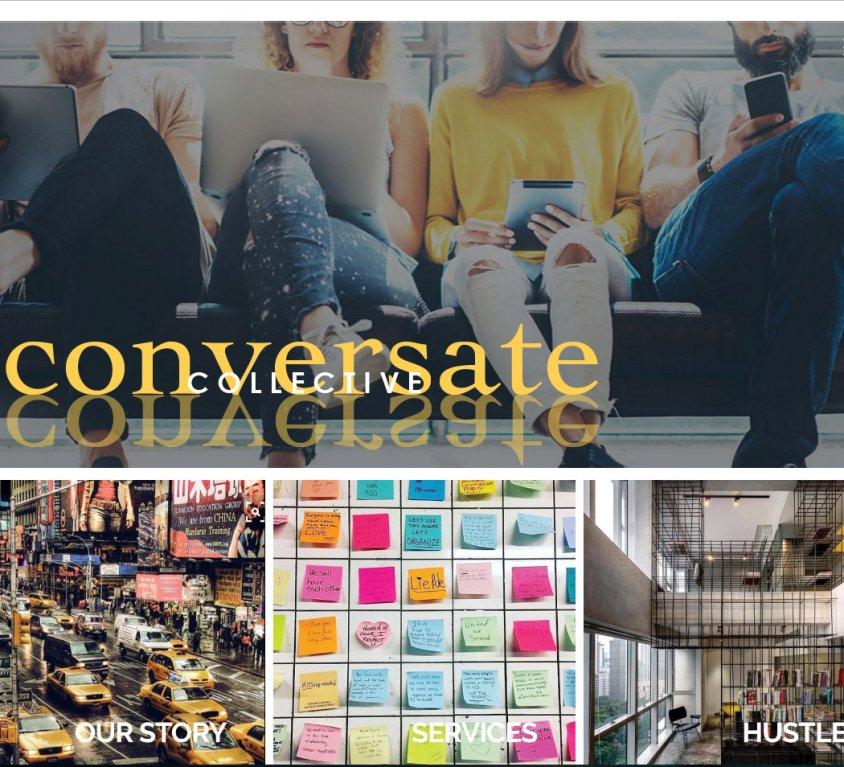 Conversate Collective Website