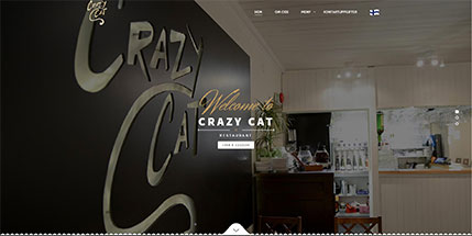 Crazy Cat Restaurant Website