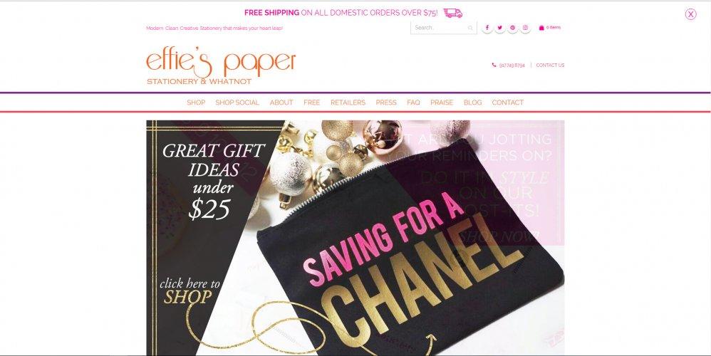 Effies Paper Webshop