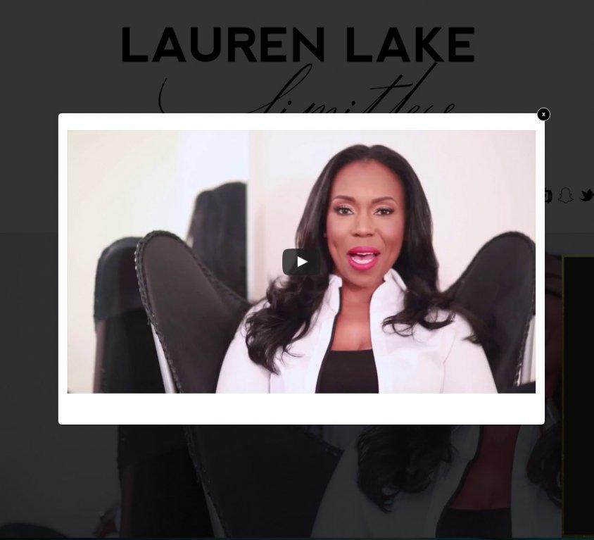 Lauren Lake Celebrity Website