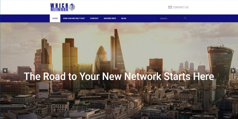 A Mortgage Broker Website